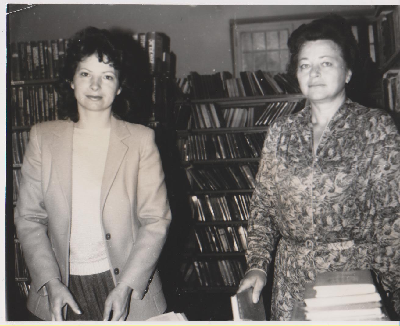 Darinka Živanović i Dragica Majnarić