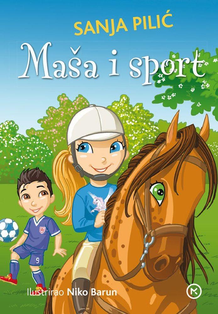 Čitamo priču: Sanja Pilić: Maša i sport (Školska knjiga)